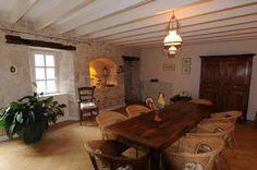 Salle à manger des Chambres d'hôtes à vendre à Benet, Marais Poitevin, Sud Vendée