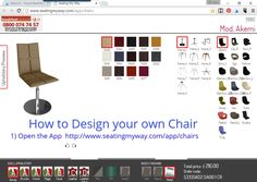 design your own chair or barstool on pinterest how to design chairs