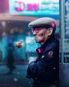 Cyberpunk and synthwave photoshop artist. Cyberpunk 2077, Cyberpunk City, Cyberpunk Kunst, Cyberpunk Aesthetic, Neon Aesthetic, Cyberpunk Fashion, Character Portraits, Character Art, Character Concept