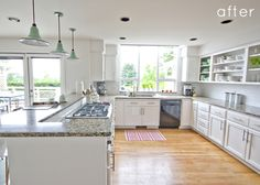 (this kitchen makes my mouth water) GlideRite kitchen pulls from Overstock