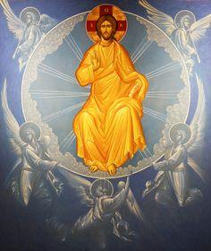 Byzantine Icons, Byzantine Art, Religious Images, Religious Art, Church Icon, Pictures Of Jesus Christ, Religious Paintings, Jesus Art, Catholic Art