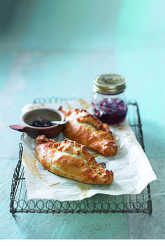 With its rich, sticky texture, lamb shank is the perfect filling for these delicious pasties. They're cheap to make, too.