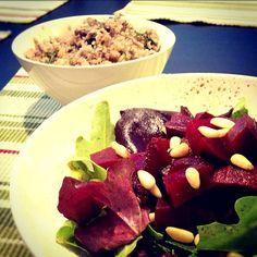 レシピとお料理がひらめくSnapDish - 1件のもぐもぐ - Buckwheat, and Beet Salad by Evgennia