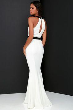 bbda4d0afe368 Vestidos blancos largos ¡10 bellas ideas! Fashion Plates, Pretty Outfits,  Pretty Clothes