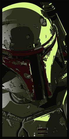 Boba Fett - Such a cool rendition.