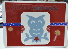 4th of July Card, Silhouette Cameo