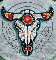 loom beading tutorial Source by You may feel that the history of handcr Native American Regalia, Native American Patterns, Native American Design, Native American Crafts, Native American Beadwork, American Indian Art, Native Beading Patterns, Beadwork Designs, Beaded Earrings Patterns