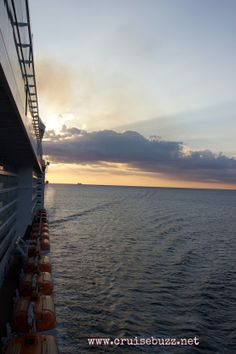 Sailing off into the sunset. #Caribbean #cruise on #MSCDivina - new and improved.