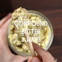 Compound Butter 3 Ways // Looking for a way to add a creative spark to your holiday dinners or jazz up weekend brunch? Look no further than compound butters, one of the simplest ways to elevate any meal or create a build your own butter bar at your next party.
