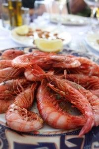 Steamed Prawns -- Spanish Food   http://hostmyniche.com/learnspanish/