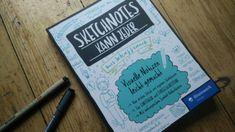 """Cover des Buches """"Sketchnotes kann jeder"""" von Ines Schaffranek. Rezension des Buches auf meinem Blog. Andreas, Cover, Blog, Slipcovers, Blogging"""
