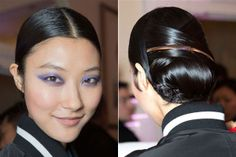 Fall Hair Trends to Try: Party in the back at Jason Wu