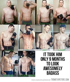 Losing weight like a boss.... a little inspiration, even for us women.