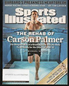 Sports Illustrated 2006 Cincinnati Bengals QB Carson Palmer ...