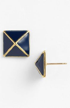 kate spade new york 'locked in' small stud earrings available at #Nordstrom