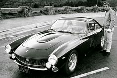 Steve McQueen & Ferrari 250