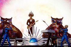 #Empire of the Sun brings some spectacle to Rock In Rio USA in Las Vegas May 16. (John Davisson) #Pollstar