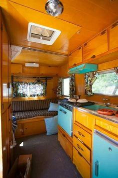 1957 Red Dale | Vintage trailers campers glampers | Pinterest