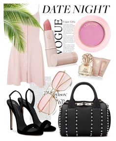 """""""Untitled #85"""" by fashiobabe ❤ liked on Polyvore featuring Alexander Wang, Topshop, Giuseppe Zanotti, Lipstick Queen and Vince Camuto"""
