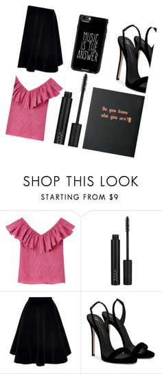 """""""And I Am Lost Again"""" by dreamingdaisy ❤ liked on Polyvore featuring N°21, Giuseppe Zanotti and Casetify"""