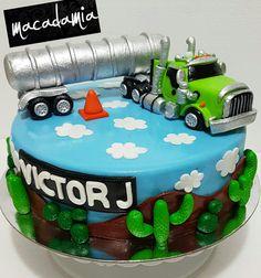Torta tracto camión