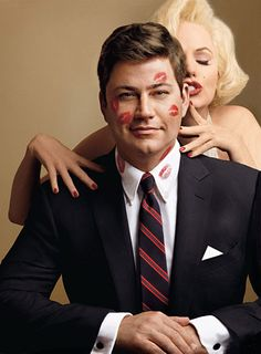 Jimmy as JFK... 2 crushes with one stone