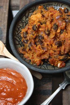 Sweet potato black bean enchiladas with red pepper sauce recipe
