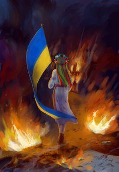 Ukraine by KeddyBreeze.deviantart.com on @deviantART
