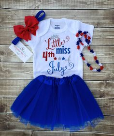A personal favorite from my Etsy shop https://www.etsy.com/listing/291476781/baby-girl-fourth-of-july-outfit-baby