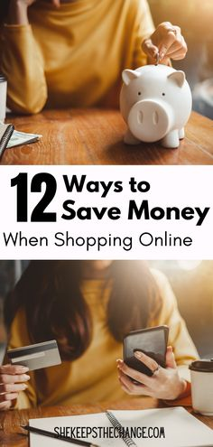 Be smarter by using these online shopping hacks to save money. When you look for ways to shop for clothes online or purchase gifts there are tricks to online shopping so you can spend less. Online shopping stores have strategies to make you spend more and come back again. Out smart them by reading this article and try saving money online today. Best Money Saving Tips, Saving Money, Piggy Bank, Online Shopping, Money Box, Net Shopping, Save My Money, Money Bank, Money Savers