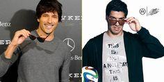 """""""Andrés Velencoso (modelo y actor) – Luis Suárez (futbolista)"""""""