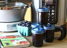 Blueberry Lemon Jam, perfect for Summer!