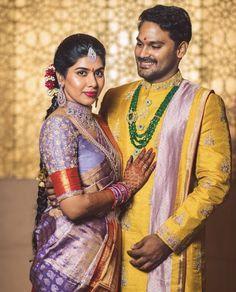 Indian Groom Wear, South Indian Bride, Silk Saree Blouse Designs, Bridal Blouse Designs, Marriage Dress For Men, Pattu Sarees Wedding, Couple Wedding Dress, Wedding Saree Collection, Lehnga Dress