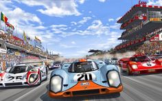 'LE MANS' IS THE PETROL-SOAKED COMIC BOOK EVERY GROWN-ASS MAN NEEDS http://mcqueenlemans.com/