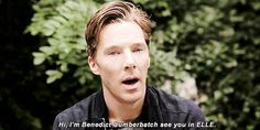 You can SEE the accent. What a dork, haha.