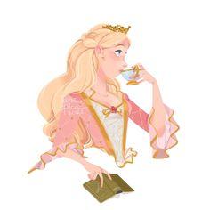 Anime Princess, Princess Zelda, Disney Princess, Barbie Drawing, Fashion Sketches, Disney Characters, Fictional Characters, Aurora Sleeping Beauty, Childhood