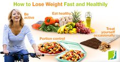 How to lose Weight in a Week: Choosing a Healthy Diet to Lose Weight Fast - You Don't Have to Suffer!