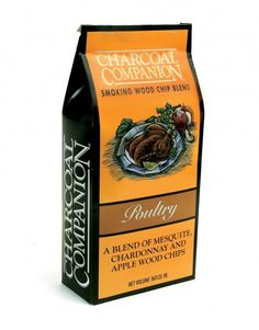 Charcoal Companion Poultry Smoking Wood Chip Blend 130 cu.in. - Availability: in stock - Price: £4.00