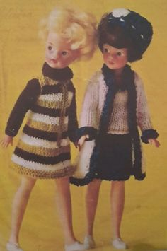 Knitting Patterns For Teenage Dolls : 1000+ images about Vintage Sindy/Teen doll patterns on ...