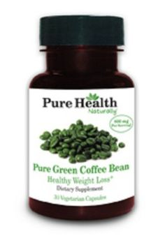 Dr Oz Weight Loss 400 mg Green Coffee Bean Extract 30 Capsules by Pure Health - 100% Pure, Absolutely no fillers or additives!! by Pure Health, http://www.amazon.com/dp/B007XOZ39E/ref=cm_sw_r_pi_dp_EPOSpb14J3Z52