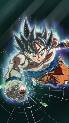 """sekkyoku en Twitter: """"¡Fondo de pantalla para el movil terminado! Goku modo """"Soy el puto amo y lo sabes"""" ✨… """""""