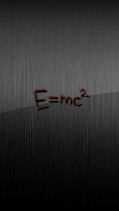 E MC Squared Grey #iPhone #6 #plus #Wallpaper