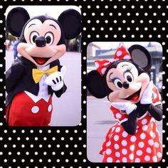Mickey and minnie.. So cute ❤️❤️