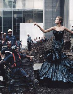'High Art', Natalia Vodianova by Annie Leibovitz #fashion #photography