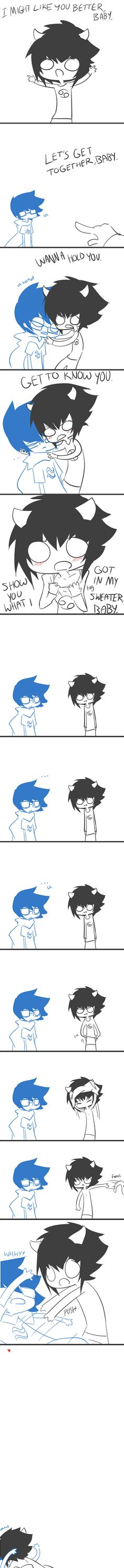 Tags: Anime, Comic, Homestuck, Karkat Vantas, John Egbert