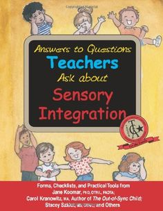 Answers to Questions Teachers Ask about Sensory Integration #SLPeeps #OT #PT  Pinned by SOS Inc. Resources @SOS Inc. Resources.