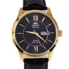 Chronograph-Divers.com - Orient Automatic Three Star Black Leather Sports Mens Watch EM7P004B, S$126.42 (http://www.chronograph-divers.com/em7p004b/)