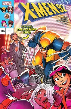 X-Men '92 #6 Cvr by David Nakayama Cover Art 2016