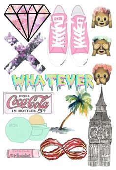 """""""Tumblr Collage"""" by thegirlygirl160000 ❤ liked on Polyvore featuring art"""