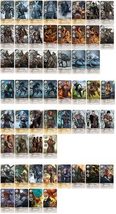 Witcher Gwent Extended/Alternative Neutral cards by jamut69.deviantart.com on @DeviantArt